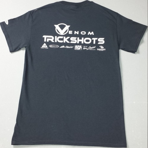 Venom Trickshots T-Shirt Back